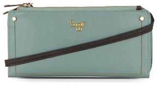Baggit Women Blue PVC Wallet