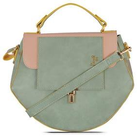 Baggit Green Synthetic Handheld Bag