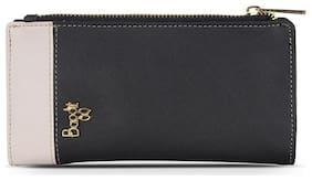 Baggit Women Black PVC Wallet