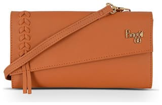 Baggit Women's Clutch (Tan)