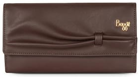 Baggit Women Nylon 3 Fold (Brown) (Lj Bowtie Y G)