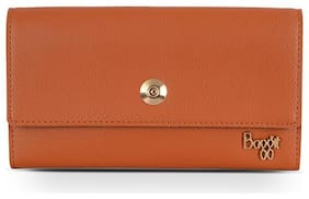 Baggit Women Tan PVC Wallet