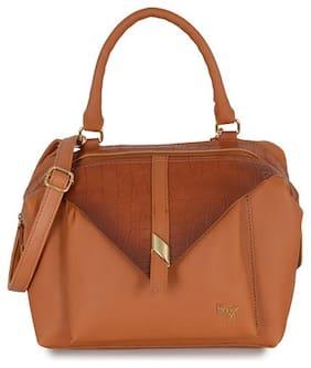 Baggit Women's Duffel Bag (Tan)