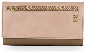 Baggit Women Brown PVC Wallet
