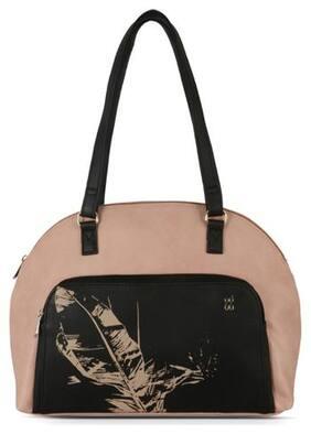 Baggit Pink Synthetic Handheld Bag