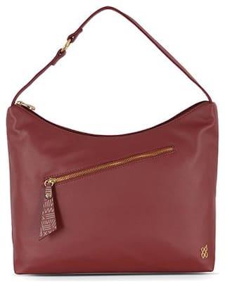 Baggit Red Synthetic Hobo Bag