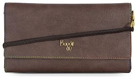 Baggit Women Brown PVC Wallet