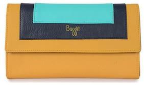 Baggit Women Yellow Synthetic Wallet