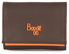 Baggit Women Nylon 3 Fold (Brown) (Lz Beckham Y G Z)