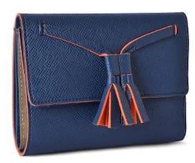 Baggit Women Blue Synthetic Wallet