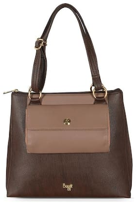 Baggit Brown Synthetic Shoulder Bag - L FLETA Y G Z