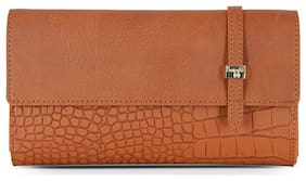 Baggit Women Tan PU Wallet