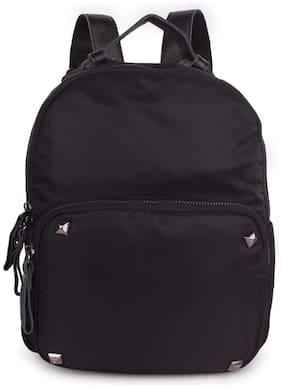 Bagkok Black Polyester Backpack