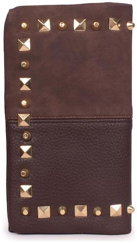 Bagkok Women Brown PU Wallet