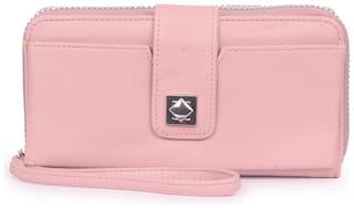 Bagkok Women Pink PU Wallet
