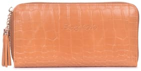 Bagkok Women Tan PU Wallet
