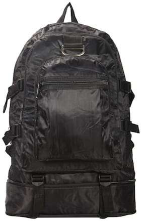 Bagkok Black PU Backpack
