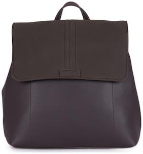 Bagkok Grey PU Backpack