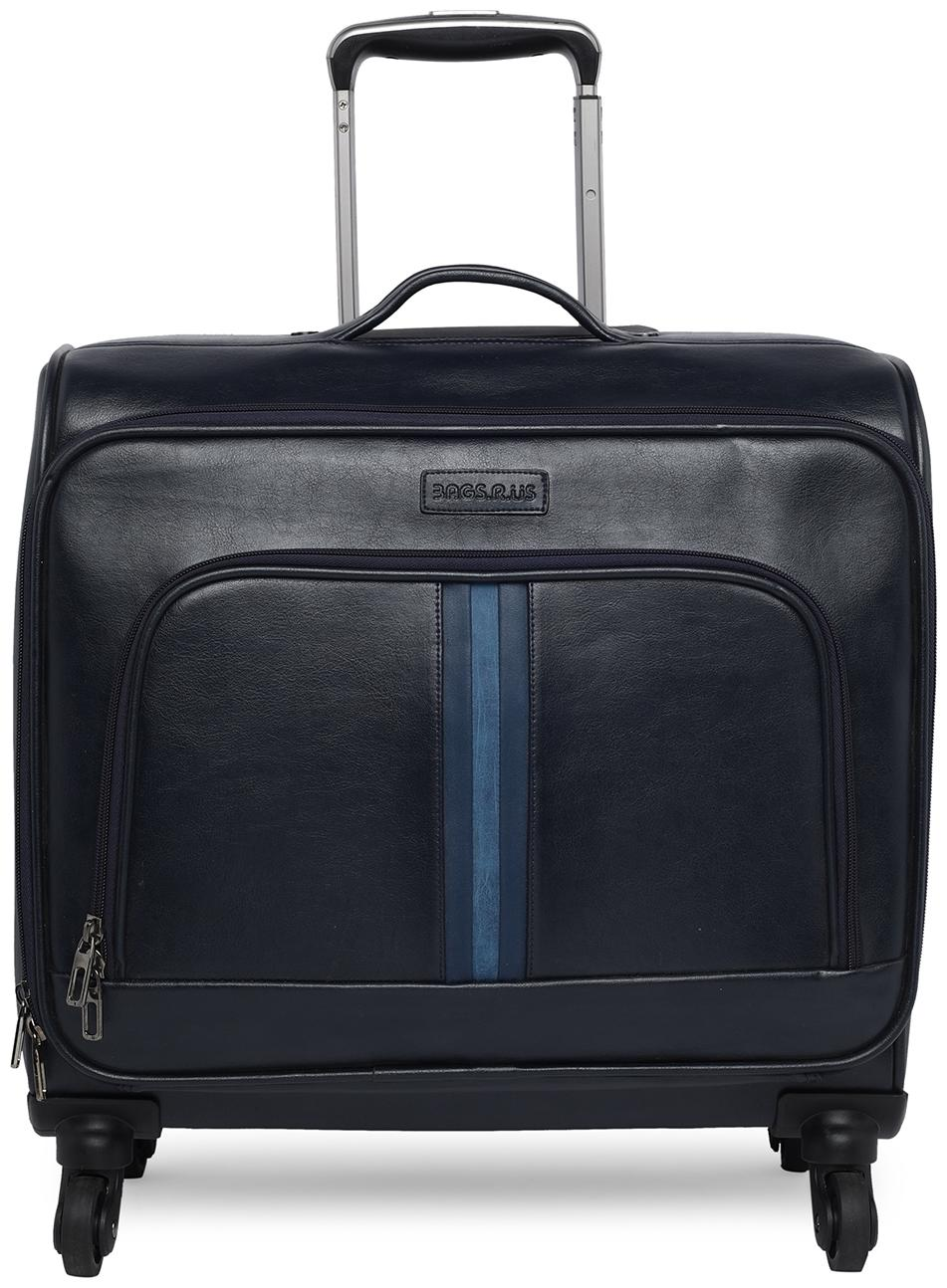 Bagsrus 4 Wheel 38 L Travel Laptop Roller Case Check In Small Cabin Trolley Luggage Bag by Bagsrus