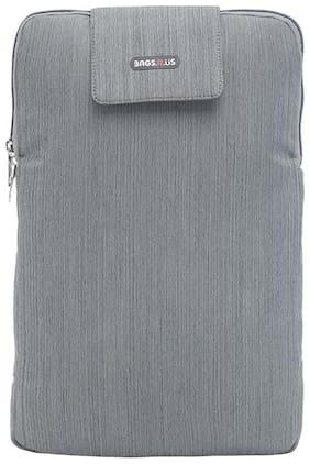 BagsRUs Alpha Grey 15.6 inch 4.4 L Laptop Sleeve (LS103FGR)