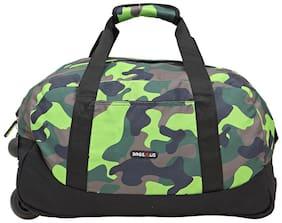 BagsRUs Amaze Green 35L Duffel Gym Tote Trolley Travel Bag (CA110FGN)