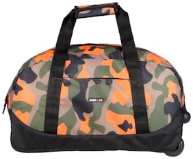 BagsRUs Amaze Orange 35L Duffel Gym Tote Trolley Travel Bag (CA110FOR)