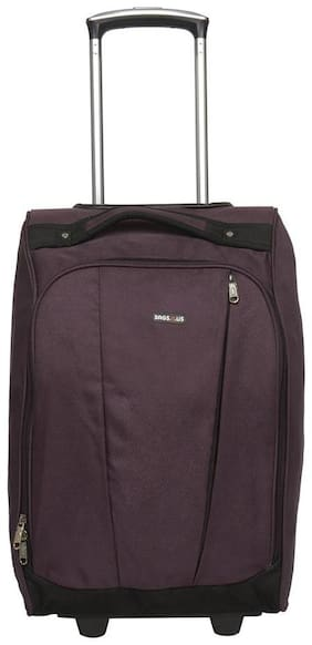 BagsRus Eternity 31L Orchid Polyester Cabin Luggage Trolley Travel Bag (CA102FOC)