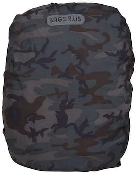 BagsRUs Military Green Foldable Water Resistant Polyester Rain Dust Protective Cover for Backpacks (RC113FMI)