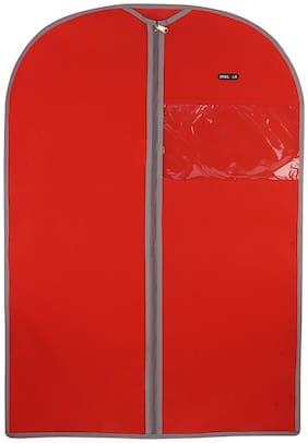 BagsRUs RED Non Woven 2.7 L Medium Suit Dress Garment Cover (GC101ERD)