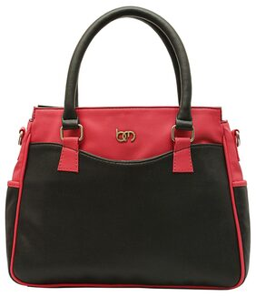 Bagsy Malone Black And Red Handbag