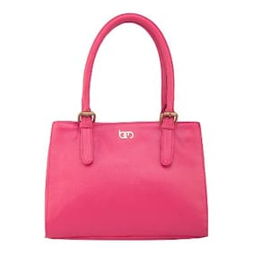 Bagsy Malone Faux Leather Women Shoulder Bag - Pink