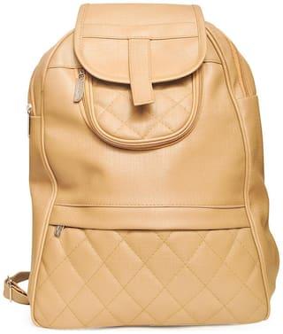 BEATSTOCK Brown PU Backpack