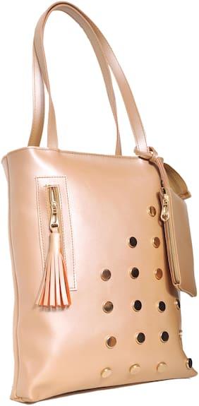BEATSTOCK PU Women Handheld Bag - Brown