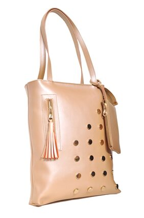 BeatStock Women's Casual Light Cream Colour;Handbag;shoulderbag;Hand messenger bag (BSH-08)