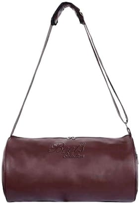 BEETS COLLECTION PU Unisex Gym Bag - Brown