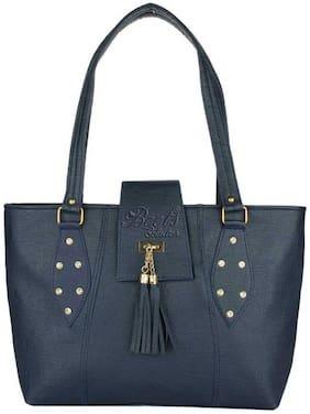 BEETS COLLECTION Blue PU Shoulder Bag - HB-064