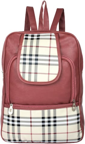 BEETS COLLECTION Brown PU Backpack