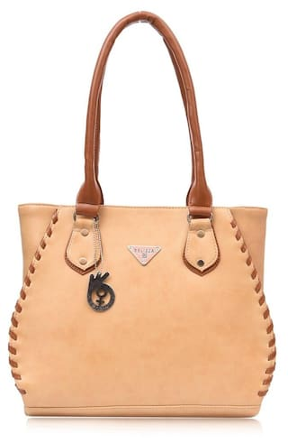 Buy BELIZZA Women Leather Others Handheld Bag - Beige Online at Low ... a299c5a6a4d60