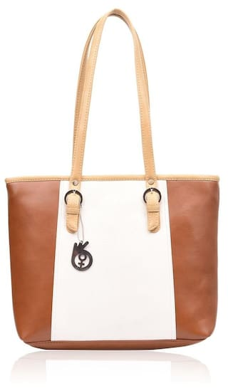 Buy BELIZZA Women Leather Others Handheld Bag - Tan Online at Low ... 11c6360bc576a