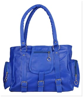 Bellina Synthetic Women Handheld Bag - Blue