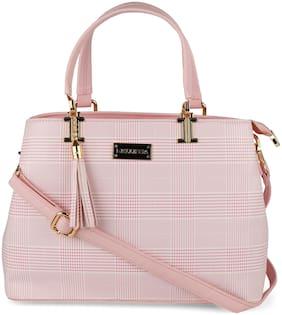 Bellissa Pink PU Handheld Bag