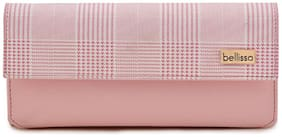 Regular Checked Clutches ( Pink )