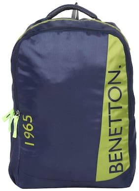 BENETTON COLLEGE BACKPACK BLUE