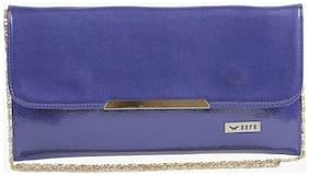 BERN Women Solid Pu - Sling bag Blue