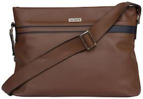BERN Women Solid Pu - Sling bag Tan