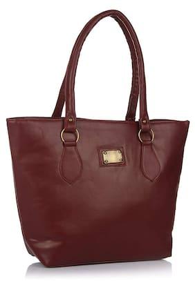 Bizarre Vogue Women's Stylish Handbag (Brown, BV1075)