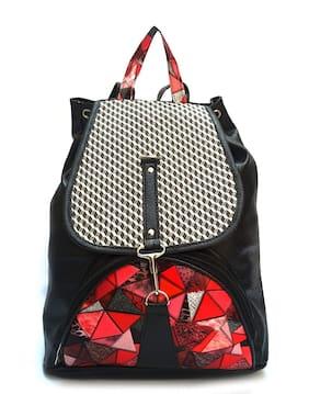 Bizarre Vogue Stylish College Bags Backpacks For Girls (Black,BV1054)
