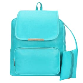 Bizarre Vogue Stylish College Bag (With Pouch Inside) For Girls (Green, BV1171)
