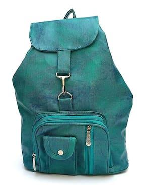 Bizarre Vogue Stylish College Bags Backpacks For Women & Girls (Sea Green, BV1036)