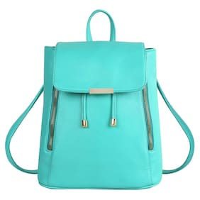 Bizarre Vogue Stylish College Bags Backpacks For Girls (Green,BV1059)